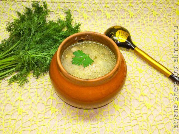 гречневый суп из индейки рецепты с фото