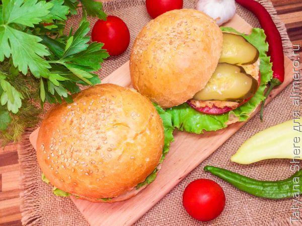 Котлеты для гамбургера - рецепт, как приготовить в домашних 62