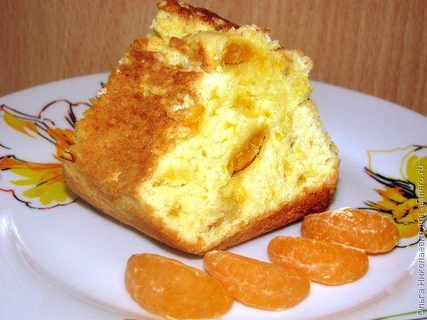 Приготовить пирог с мандаринами
