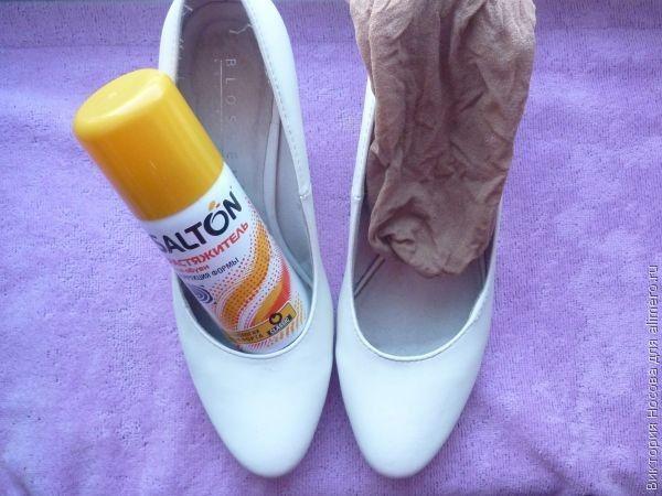 Как разносить тесную обувь в домашних условиях из натуральной 376
