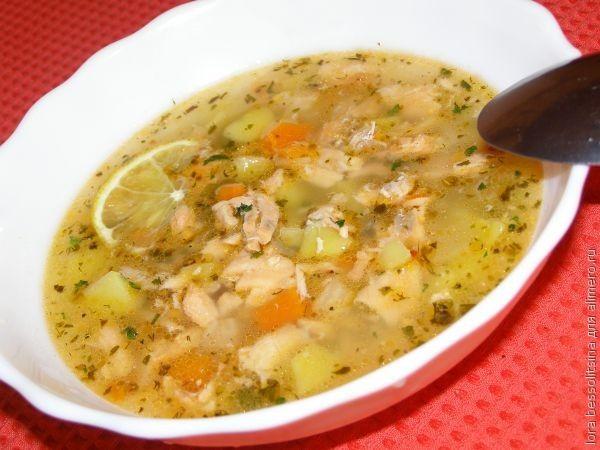 блюда супов из семги рецепты с фото