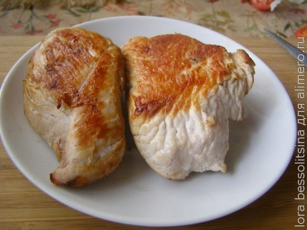 канапе, готовое мясо