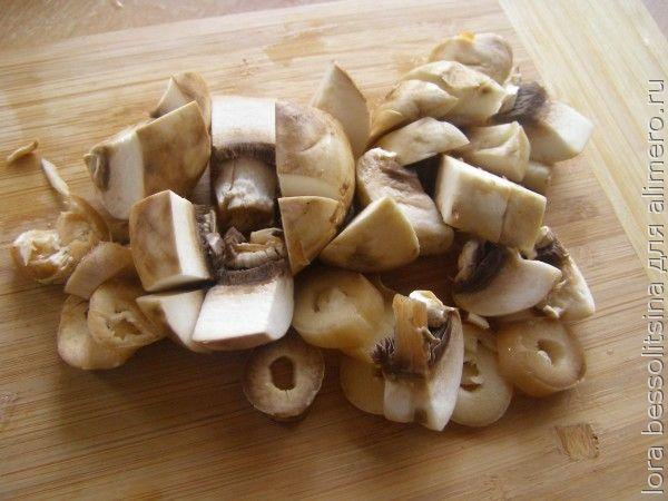 суп диетический, грибы
