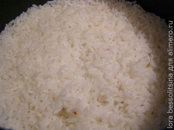 пиленгас в кляре с овощами, рис