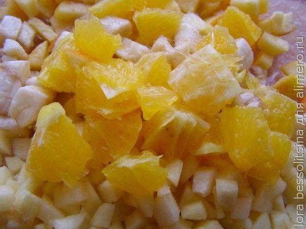 фруктовый салат, апельсин