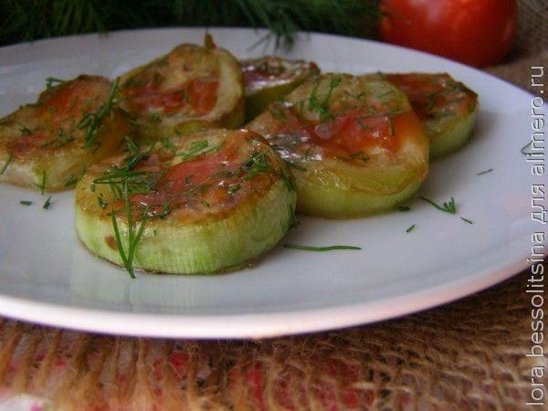 кабачки под соусом