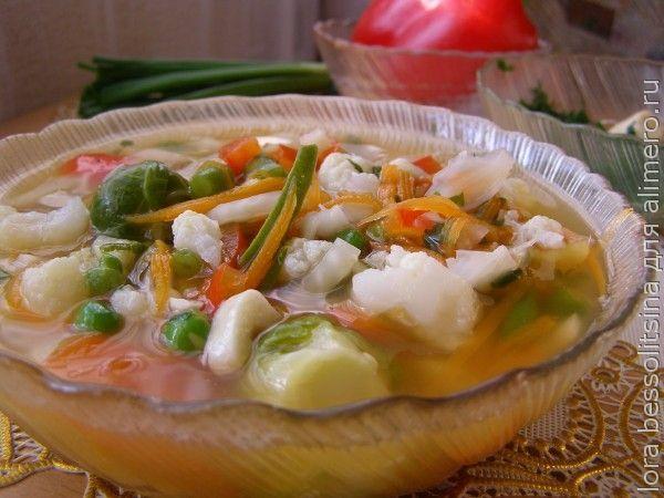 суп сельдерейный