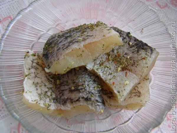 рыба с овощами, стейки