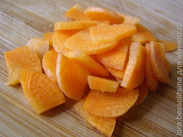 великопостные бантики, морковь