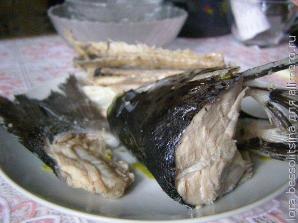 заливное из форели, рыба готова