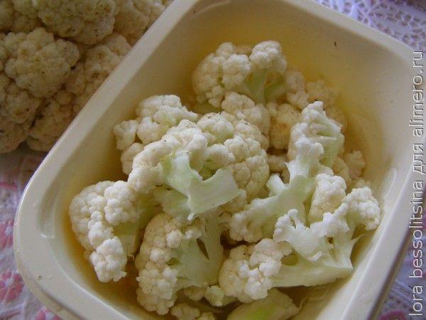 суп аппетитный, цветная капуста