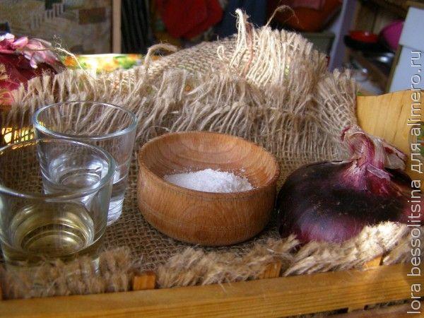 маринованный лук, ингредиенты