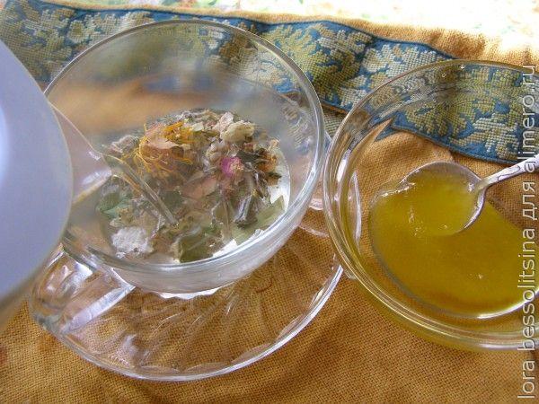 полезные чаи, зальем травы кипятком