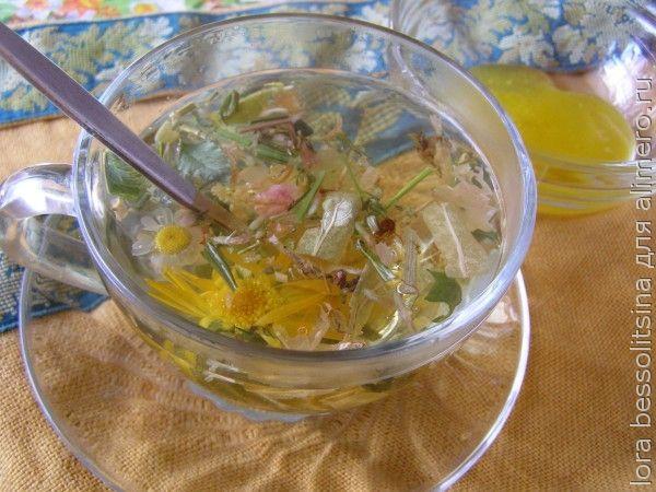 полезные чаи, цай с травами