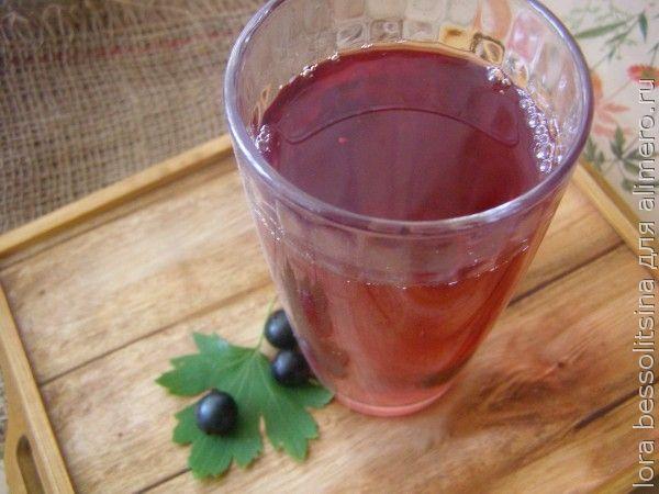 полезные чаи, чай со смородиной