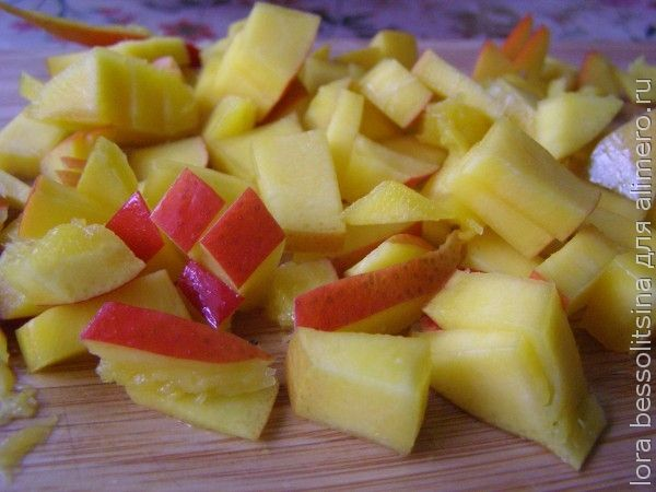 салат с манго, манго