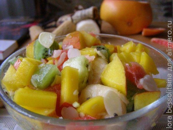Фруктовые салаты с манго рецепты с