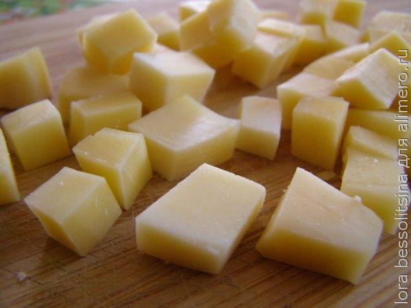 салат-десерт, сыр