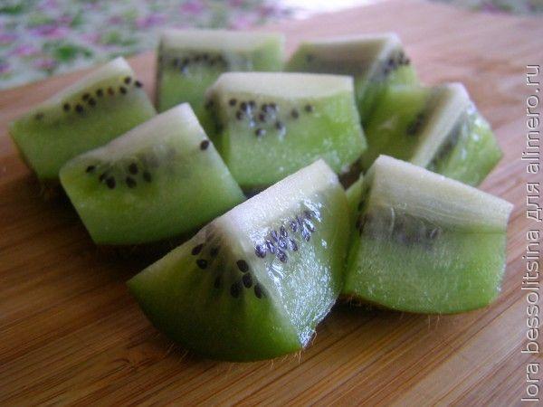 фруктовый шашлык, киви