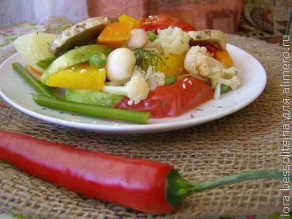 Блюда из овощей для детей от года