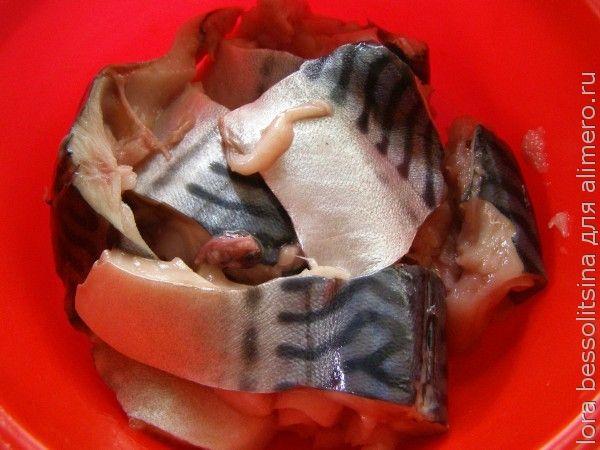 рыбно-овощная запеканка, рыба
