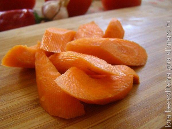икра из овощей с грядки, морковь