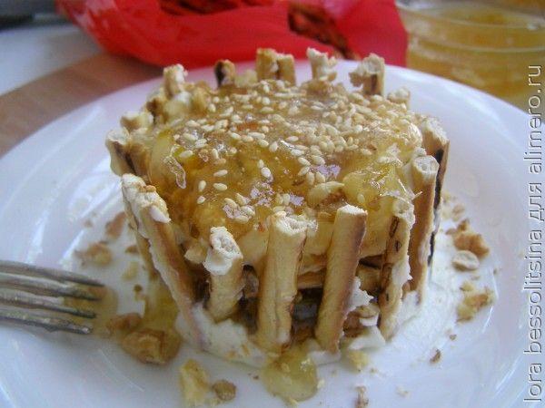 десерт для внука, с кунжутом