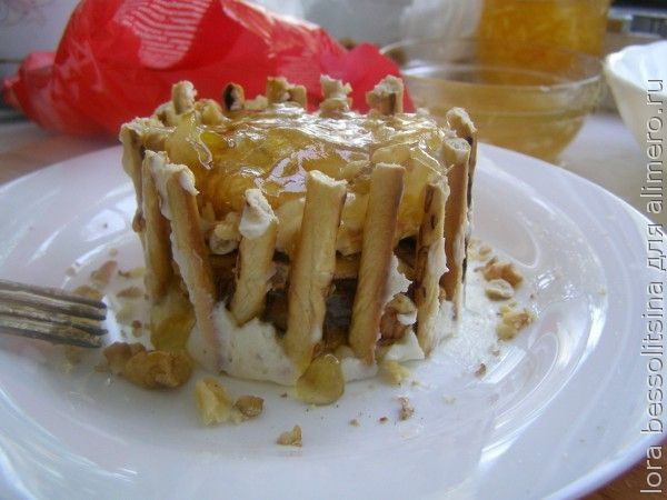 десерт для внука
