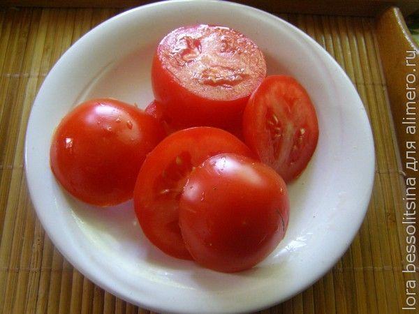 овощной шашлык, помидор