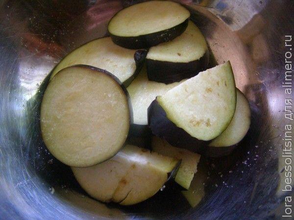 овощной шашлык, подсоленные баклажаны