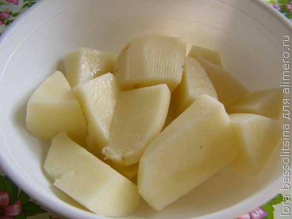 суп-пюре, картошка