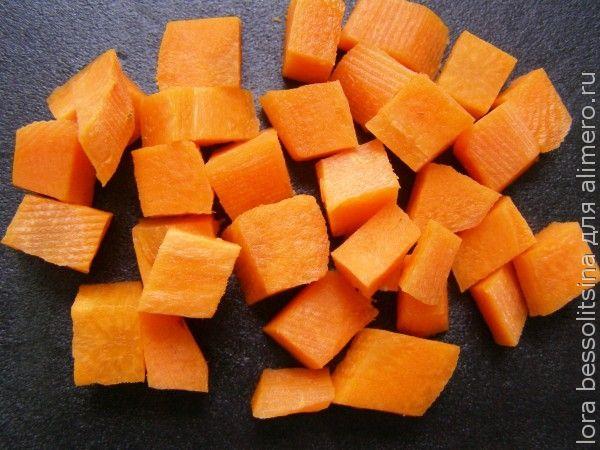 суп летний, морковь
