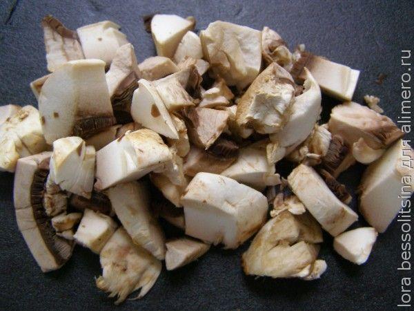 суп летний, грибы