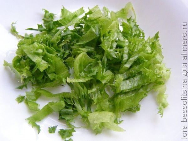 салат с копченой колбасой, салат