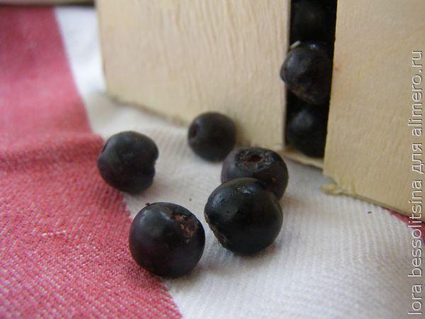 творожное смузи, черноплодная рябина