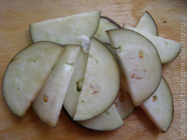 картошка с овощами, баклажан