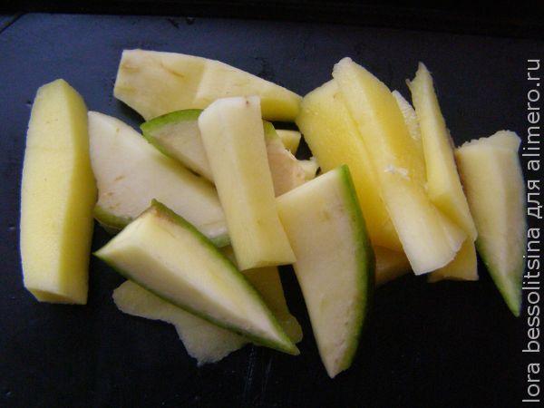грудка с манго, манго