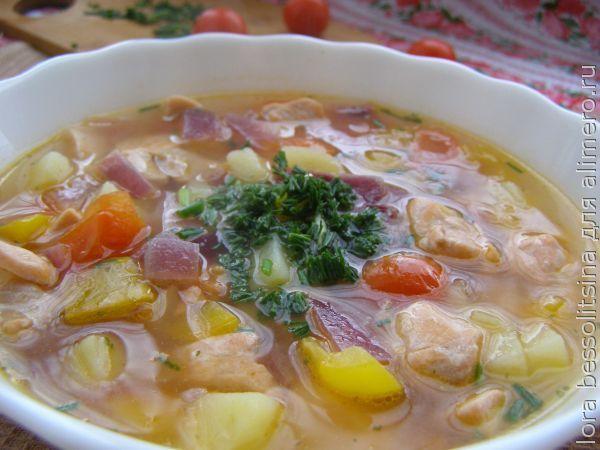 рецепты супов из говядины с клецками