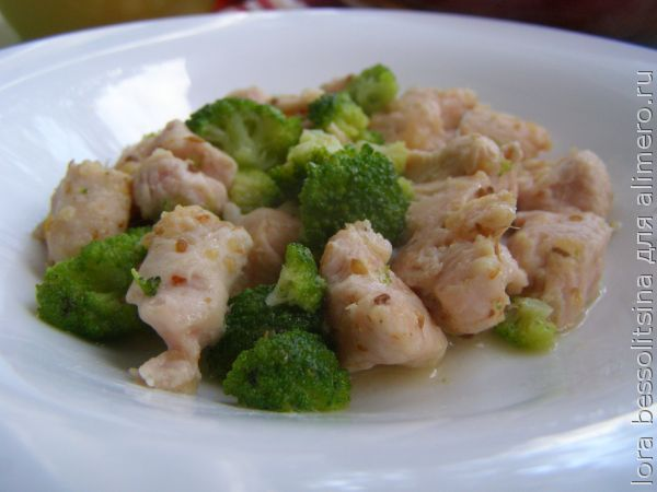 Рецепт полезного блюда с фото