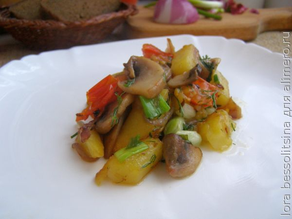 Жареная свинина с картошкой рецепт 167