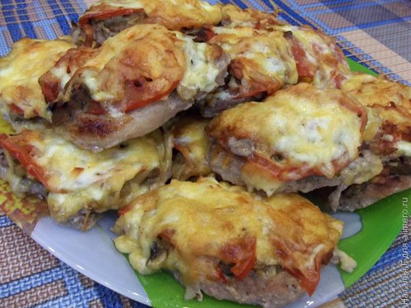 Мясо по-французски в духовке рецепт с фото пошагово