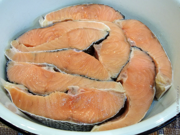 Красная рыба запечная в духовке