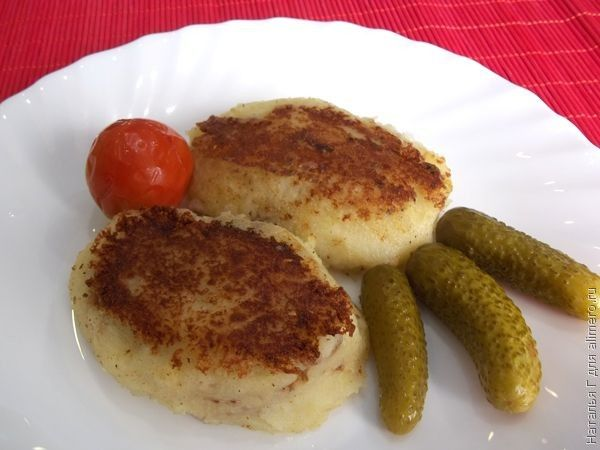 гречка рецепт с с фото зразы фаршем
