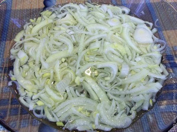 Салат свиное сердце