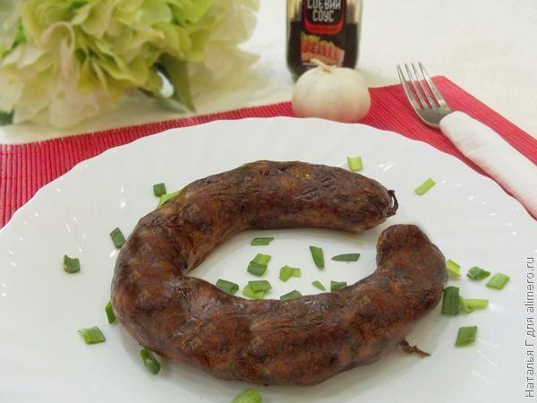 Украинская домашняя колбаса