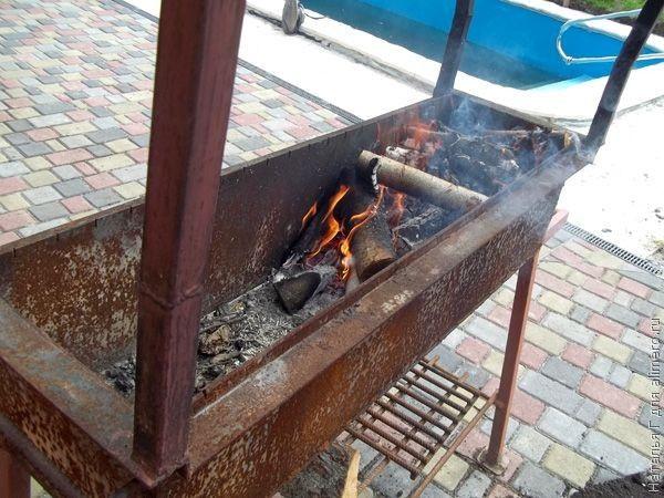 рецепт приготовления шашлыка из скумбрии