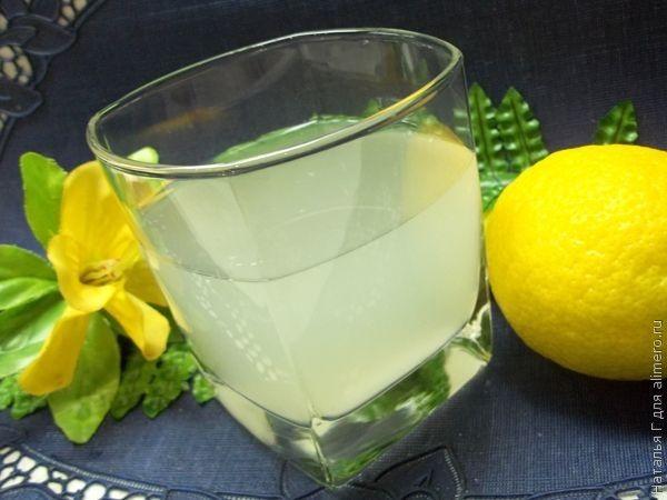 как приготовить тонизирующий напиток