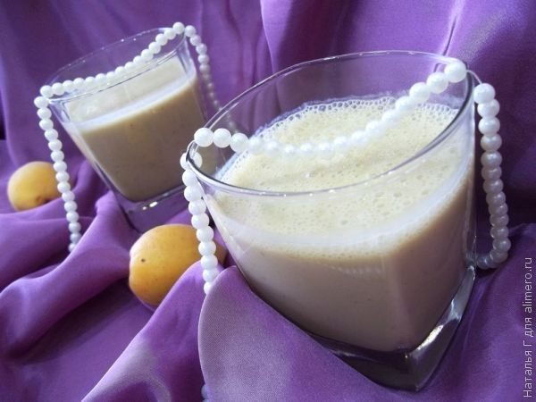 Вечерний коктейль из кефира