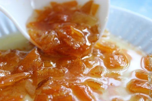 Варенье из мандариновых корочек