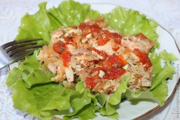 рецепты тушения в мультиварке курицу с овощами